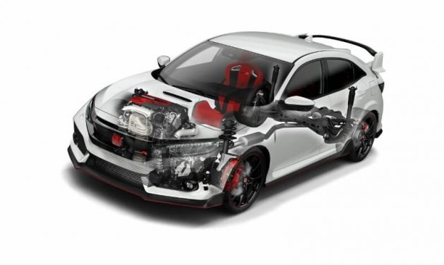 2019 Honda Civic Type R Engine