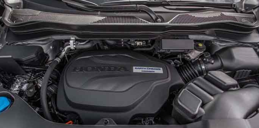 2021 Honda Ridgeline Sports Engine