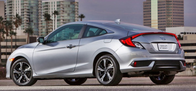 2020 Honda Civic Coupe Exterior