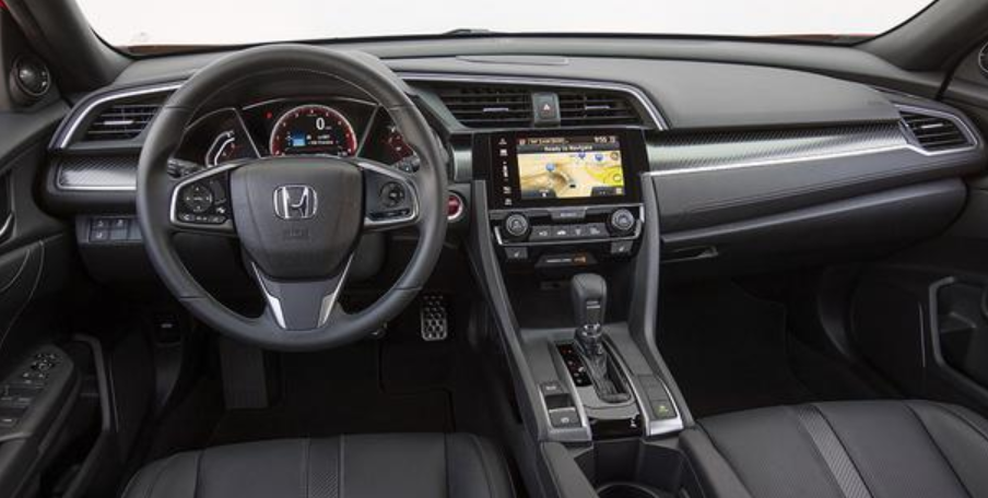 2020 Honda Civic Coupe Interior