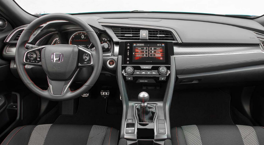 2020 Honda Civic Si Interior