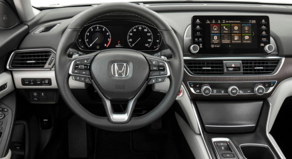 2020 Honda Accord Sedan Release Date Interior