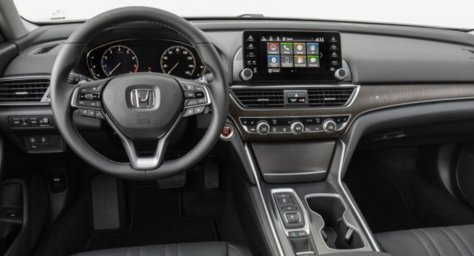 2020 Honda Accord Sedan Sport Manual Interior
