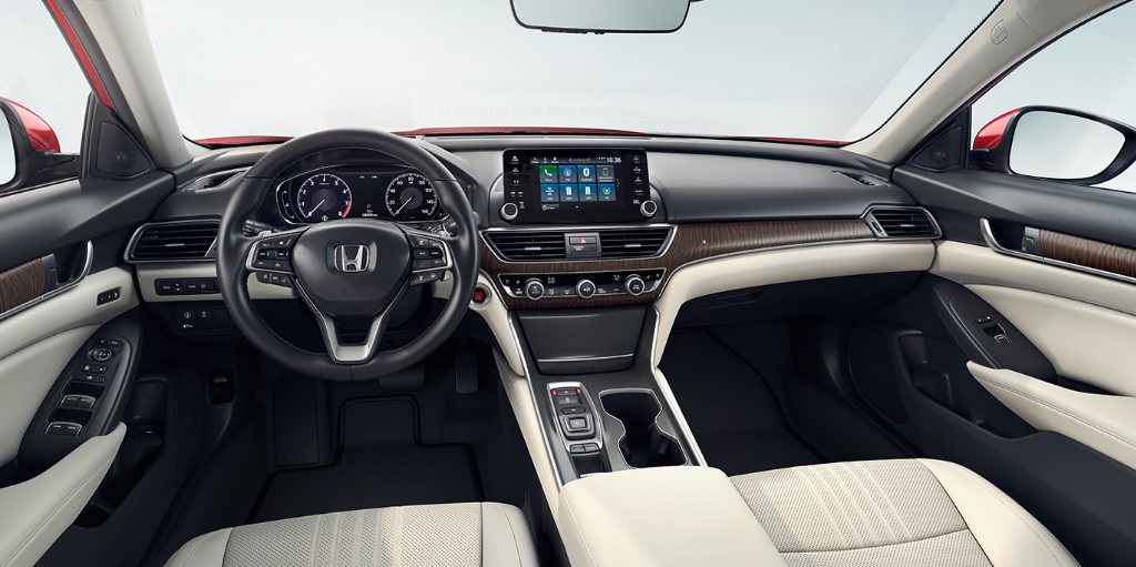 2020 Honda Accord Sedan Manual Transmission Interior
