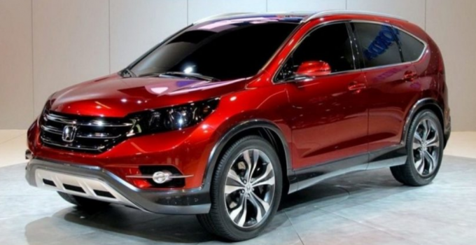 2020 Honda CRV Manual Transmission Exterior