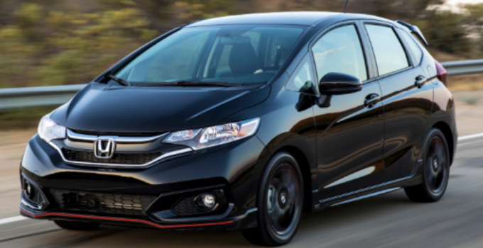 2020 Honda Fit Performance Engine Exterior