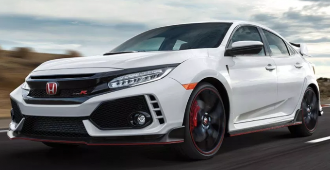 2020 Honda Civic Type R Touring Manual Performance Exterior