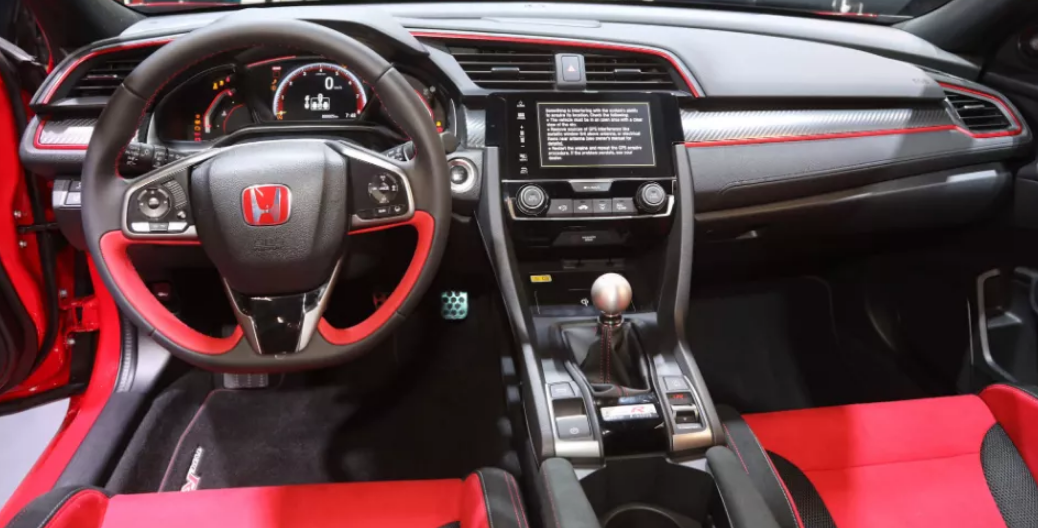 2020 Honda Civic Type R Touring Specifications Interior