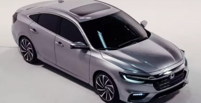 2020 Honda Insight Manual Transmission Exterior