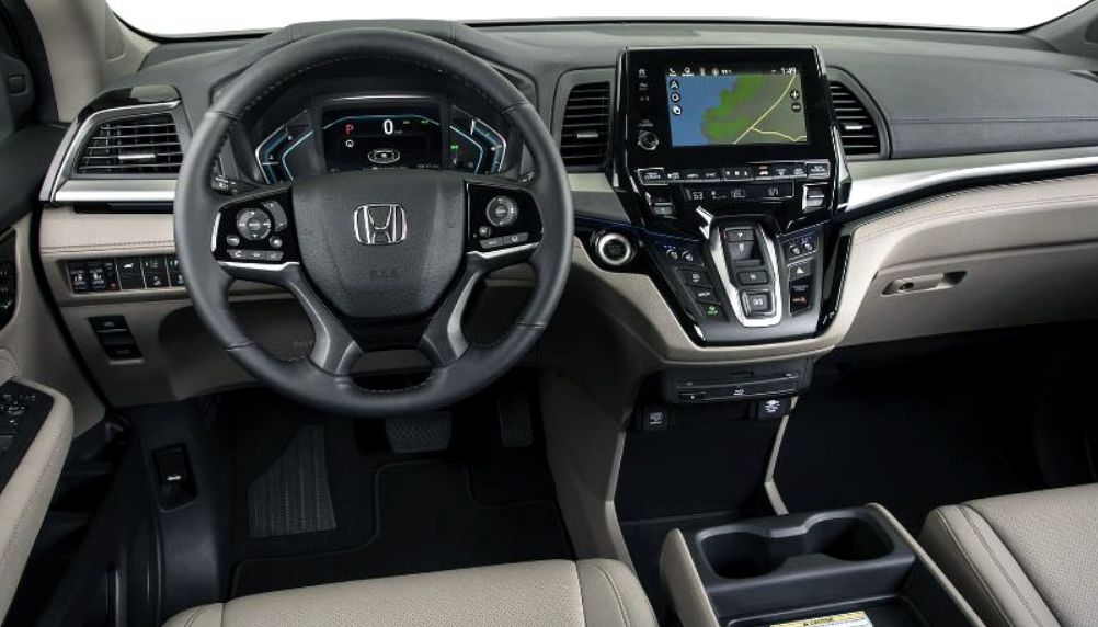 2020 Honda Odyssey Color Options Interior