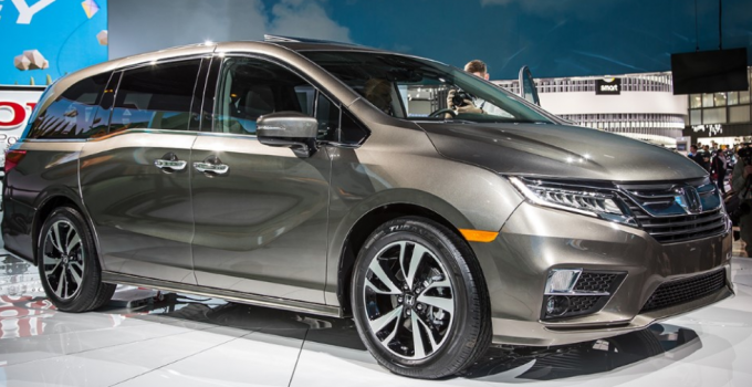2020 Honda Odyssey Rumors Redesign Exterior