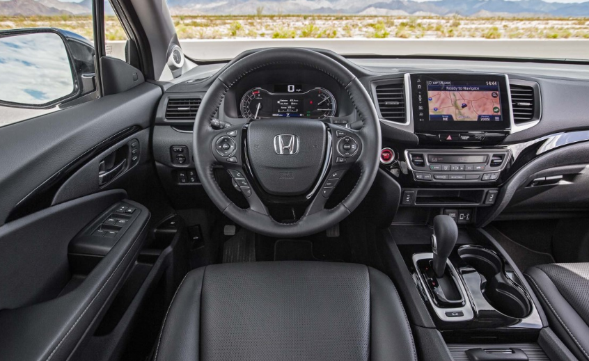 2020 Honda Ridgeline Sports Towing Capacity Interior