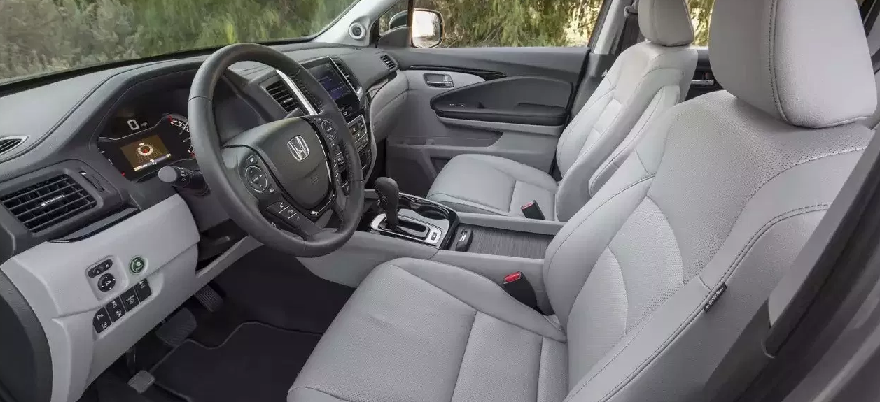 2020 Honda Ridgeline Towing Capacity Interior